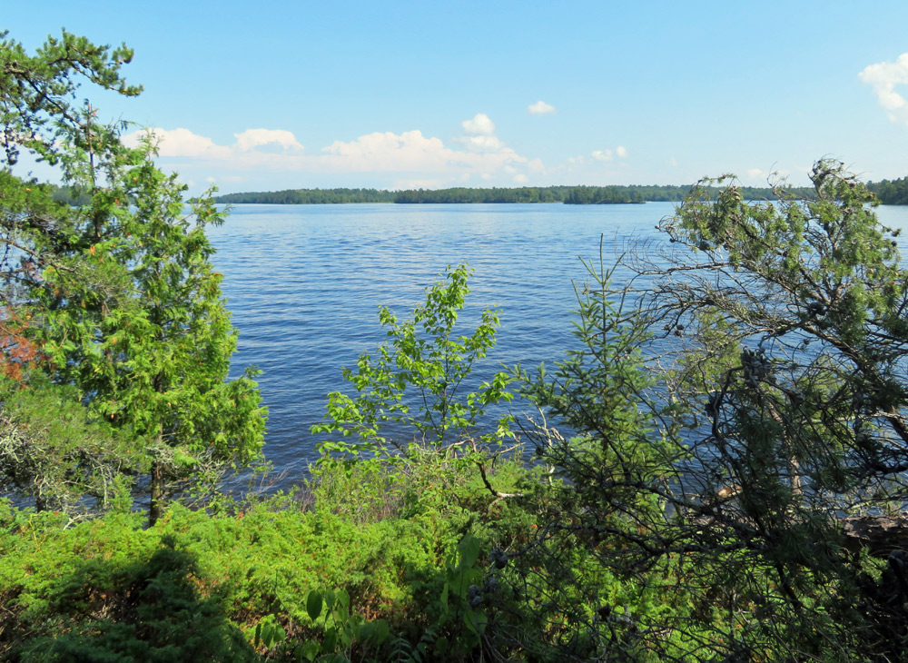 Waterway in Voyageurs National Park, a less-crowded alternative to Acadia