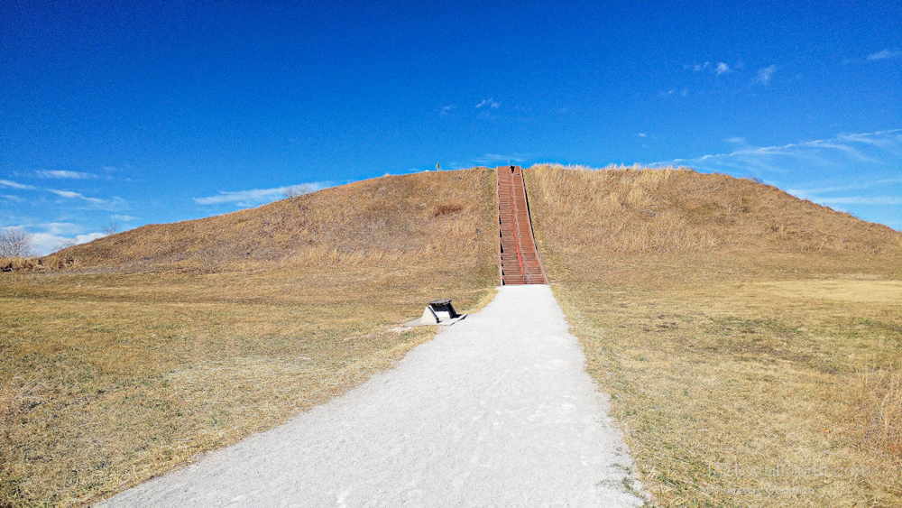Earthworks at Cahokia Mounds, a UNESCO World Heritage Site